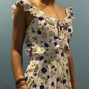Delicate floral summer dress